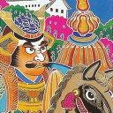 【全国送料無料 パワーポール付】金箔太閤武者絵のぼり【パワーポール付きセット】武者絵幟:金箔太閤五人絵:巾90cm×長さ7.5m