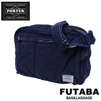 Yoshida Kaban Porter deep blue Yoshida Kaban Porter shoulder: 630-06444: PORTER DEEP BLUE /