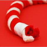 【お祭り用品】紅白紐(ひも)直径12mm 切り売り【領収書発行】
