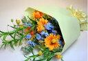 5月の誕生花サンダーソニア ・ガーベラの花束