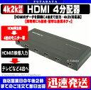 HDMIスプリッタ 4台タイプGREEN-HOUSE GH-...