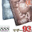 【京都西川】羽毛布団 クイーン 2枚合わせ ポーランド産 ホワイトマザーグース93% 80