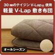 敷き布団 軽量・体圧分散型 テイジンV-Lap軽量敷き布団 シングルサイズ(約100×205cm) 軽い ふかふか 体圧分散 TEIJIN V-Lap 日本製 テイジン 【6.1】