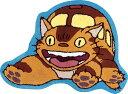 【ポイント10倍】となりのトトロ マット 「ネコバス」 約63×85cm ブルー (キャラクターグッズ/スタジオジブリ/フリーマット/インテリアマット/玄関マット)