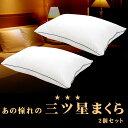 昭和西川 洗える リッチなホテル仕様枕 2層式 43×63cm ホテルモードまくら GP-1811 側地 ピーチスキン加工