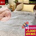【2020年福袋】開運★ 東京西川 シープボア 毛布福袋 「...