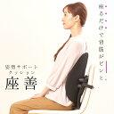 座善 The Zen ザゼン 姿勢改善サポートクッション 腰椎サポート 腰椎 胸椎 腰当て 背中 腰 腰痛 肩こり クッション 椅子 オフィスチェ..