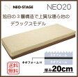 【期間限定 20%OFF】 西川リビング NEO STAGE ネオステージ NEO20 マットレス セミシングルサイズ(通常のシングルよりも幅が20cm短くなります) 高反発マットレス 1枚もの