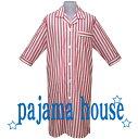 パジャマ メンズスリーパー ダンガリーストライプ