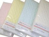 「東京西川」防水パッドシーツ(ベビー)汗やおしっこも吸収する防水シーツです[無地カラー]