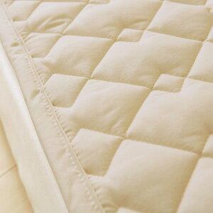 【ポイント2倍12/129:59迄】【西川・ベッドパッド・ダブル・日本製】うれしいお手頃価格!洗える清潔ベッドパット♪西川リビングベッドパッド/D(200cm用)ダブル