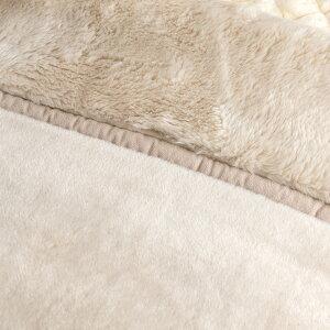 【西川チェーン賞連続受賞】【西川毛布・シングル・2枚合わせ毛布】泉州仕立ての上質毛布。西川リビングマイヤー2枚合わせ毛布日本製(ブランケット/もうふ/寝具)シングル