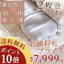 【ポイント10倍 3/26 8:59迄】【西川毛布・シングル...