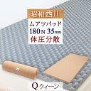 □【西川ムアツ布団・クイーンサイズ】ベッド(スプリングマット)の方に!昭和西川 西川ム
