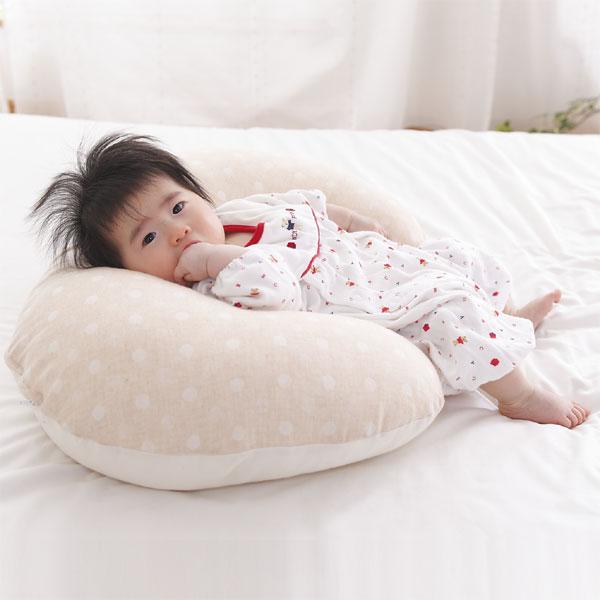 【授乳クッション】ECOレシピ♪ オーガニックコットン・ダブルガーゼ らくらくクッション …...:futonyasan:10012584