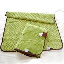 毛布♪【レビューを書いて送料無料】ChocoLiv(ショコリブ) 西川リビングのマイクロファイバー毛布2点セット(ふわっと毛布+敷きパッド) グリーン♪♪♪【ブランケットもうふ・毛布・寝具】【5%OFF】【P0121】