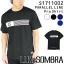 ルースイソンブラ プラクティスシャツ PARALLEL LINE プラシャツ S1711002 【フットサル サッカー】