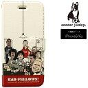 サッカージャンキー スマホケース 手帳型 iPhone6/6S BAD BOY SJFL006【全品送料無料】【フットサル サッカー】【10P03Dec16】