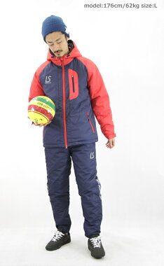 【l1531303】LUZeSOMBRA/ルースイソンブラINNERCOTTONSTORMHALFCOAT【全3色】(フットサル中綿トレーニングカジュアルサッカー)