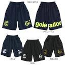 【送料無料】goleador/ゴレアドール バックロゴプリントプラパンツ g-864...