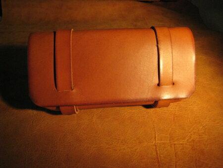 ペンケース 革 ペンケース ペンポーチ /革鞄のようなペンケース【手作り革鞄工房futuro】