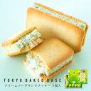 東京BakedBase|クリームソーダサンドクッキー 5個入<ベイクドベース 内祝 お土産 洋菓子 焼菓子>(宅急便発送)