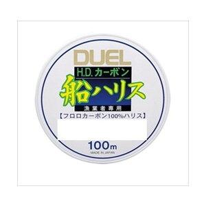 DUEL(デュエル)/ H.D.カーボン船ハリス 100m 10号  H962