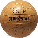 ダービースター サッカーボール Nostalgieball Cup 5号球