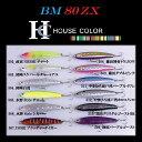 ノースクラフト/バリスティックミノー80ZX HOUSE COLOR