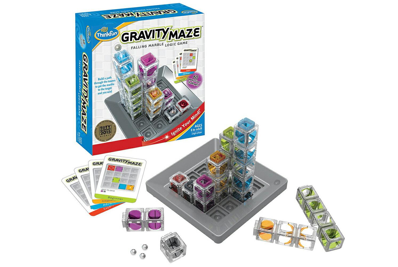 正規輸入元【アメリカの脳トレ】グラビティ・メイズ Gravity Maze対象年齢:8〜99歳結論から組み立てる重力迷路ThinkFun<シンクファン社>