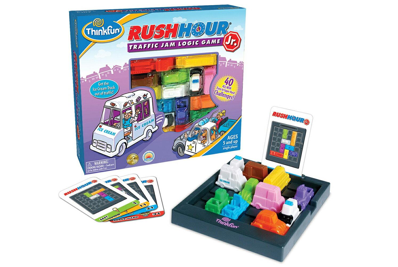正規輸入元【アメリカの脳トレ】ラッシュ・アワー・JR Rush Hour JR対象年齢:5〜99歳論理的思考で問題を解決する力ThinkFun<シンクファン社>