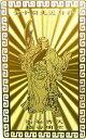 【郵便で送料無料】風水の開運カード【NO-4】■財神!関羽様■(金属製)護符 風水グッズ/開運アイテム/縁起物/お守り