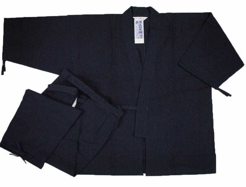 袴式 作務衣 男性用 袴 さむえ 日本製 久留...の紹介画像2