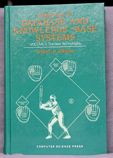 【中古】】【洋書】PRINCIPLES OF DATABASE AND KNOWLEDGE−BASE SYSTEMS VOLUME 2】中古:非常に良い