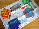 マリメッコ Marimekko/ カッティラ Kattila(鍋)/ キッチンタオル(クロス)(柄違い2枚組)メール便対応可|マリメッコ|ティータオル|北欧雑貨|キッチンクロス|