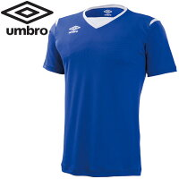 【2枚までメール便送料無料】アンブロ サッカー 半袖シャツ メンズ ゲームS/Sシャツ UAS6700-BLUの画像