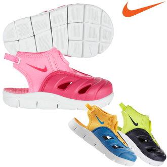 高達 35 倍購物馬拉松 P (10/6 (星期四) 至 1:59) ★ 14 SS 耐克 (Nike)-免費發電機微風 TD 嬰兒和孩子們的涼鞋 642511 02P01Oct16