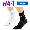 ザムスト HA-1 レギュラー丈 【両足入り】 疲れを緩和するソックス ZAMST 【クッション性重視のスタンダードタイプ】ランニングソックス