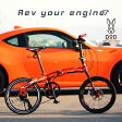 △DOPPELGANGER(ドッペルギャンガー)211-mobility six 20インチ折りたたみ自転車