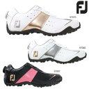 ◇【2014年モデル】フットジョイ FJ ロープロ スポーツ スパイクレス ボアゴルフシューズ FOOTJOY レディース