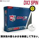 ウィルソン ゴルフボール DX3 スピン ゴルフボール 1ダース(12P) 2016年モデル DX3 SPIN Ball Kasco Wilson