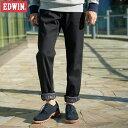 エドウイン ゴルフウェア メンズ ロングパンツ フラップポケット ストレート ワイルドファイア E53WFP 2016秋冬