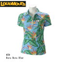 LOUDMOUTH ラウドマウス ゴルフウェア レディース 半袖ポロシャツ 767659-070 春夏