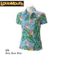 LOUDMOUTH ラウドマウス ゴルフウェア レディース 半袖ポロシャツ 767659-070 春夏の画像