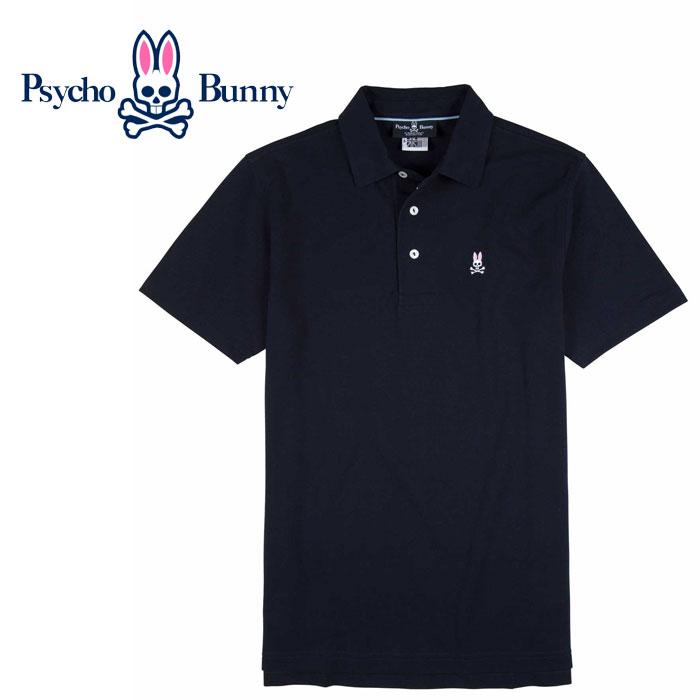 【エントリーでポイント5倍以上確定!!!&お得なクーポン配布中 6/17~6/22】【USA直行便】 PSYCHO BUNNY (サイコバニー)   ポロシャツAmbleside Polo B6K404S7PC