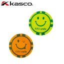キャスコ ゴルフ メンズ レディース KIRA Smile 集光性アクリルコインマーカー KIZM-1910 (245258)