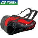ヨネックス テニス ラケットバッグ6 リュック付き 6本用 BAG1722R-187
