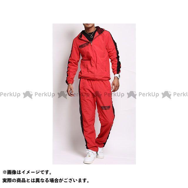 MAD STAR MS14NA43 本田プロデュースSETUP ウイリーズウエア カラー:赤 サイズ:S