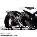 WirusWin Ninja250用 スリップオンマフラー スポーツタイプ サイレンサー:ブラックカーボン仕様 Ninja250