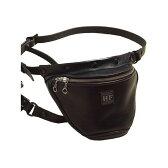 カドヤ HEAD FACTORY No.8493 HFG/WAIST BAG GS-STD(ブラック) サイズ:L